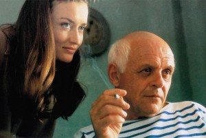 SURVIVING PICASSO, from left: Natascha McElhone, Anthony Hopkins as Pablo Picasso, 1996, © Warner Brothers