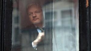 Julian Assange by Carl Court-Getty Main